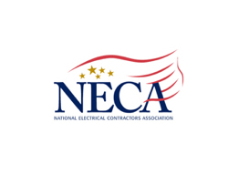 NECA logo for Tri-State commercial electrical contractors in Chattanooga