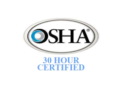 OSHA seal for Tri-State commercial electrical contractors in Nashville