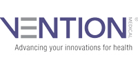 Logo for Vention Medical a satisfied customer for Tri-State Electrical a commercial electrical company in Chattanooga