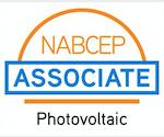 NABCEP Associate- Logo for solar power companies Atlanta