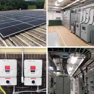 Examples of industrial installation by a commercial electrical company in Atlanta