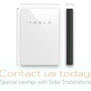 Example of a Tesla Powerwall in Augusta
