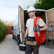 ●On the job with a commercial electrical contractor in Nashville